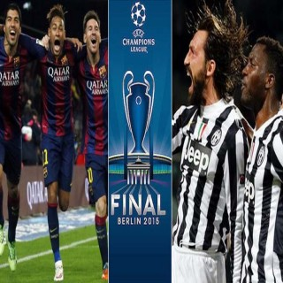 2014-15 Champions League Final : Juve vs Barca