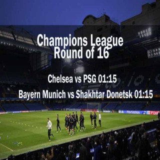 Champions League Round of 16 : 12th March, 2015