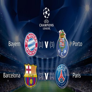 UCL Quarter final 21st April, 2015