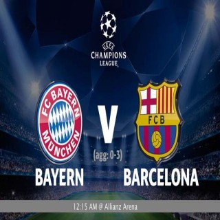 UCL  Semi final : Bayern Munich vs Barcelona (0-3 first leg)