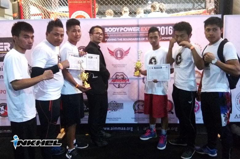 AIMMAA Body Power India Open MMA Championship-ah Mizoram an