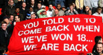 ​Au Revoir Cantona and Man. Utd. Come back when you've won 18
