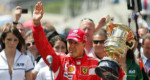 Ferrari in Schumacher pual exhibition an buatsaih dawn