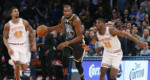 Kevin Durant zarah Warriors in Knicks an hneh