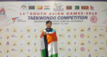 Mizo Taekwondo players ten India an ti hmingtha