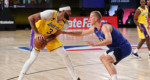 NBA: Western Conference Final Game 1-ah Lakers an chak