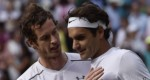 Wimbledon: Roger Federer leh Andy Murray te'n semi-final a lut
